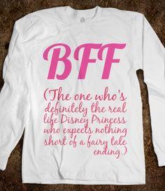 BFF shirt part 1