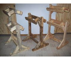 Saddle Stand (rustic)