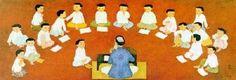 """""""The Class"""". Mai Trung Thu (1906-1980), Vietnamese artist,"""