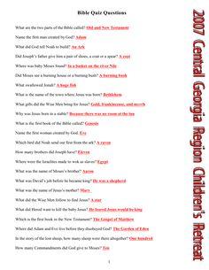 5 Best Images of Free Printable Bible Study Questions - Free Printable Bible Studies, Fun Bible Trivia Questions Answers and Free Bible Study Printables Bible Questions For Kids, Bible Questions And Answers, Bible For Kids, Bible Trivia Quiz, Bible Games, Bible Study Lessons, Free Bible Study, Bible Emoji, Bible Index