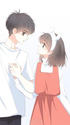 Anime Y always girls hav to suffer. Cute Couple Drawings, Cute Couple Art, Anime Couples Drawings, Anime Love Couple, Anime Couples Manga, Chica Anime Manga, Manga Couple, Anime Chibi, Kawaii Anime