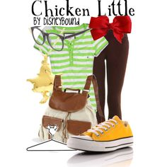 """Chicken Little"" by lalakay on Polyvore #disney"