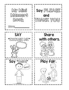22 Best Theme Manners Images On Pinterest Manners Activities