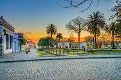 http://500px.com/photo/185906319 Plaza de Armas by frbc00 -Colonia del Sacramento - Uruguay. Tags: skycitysunsetcolortravellightarchitectureorangesquare500pxexposureuruguayFlickr