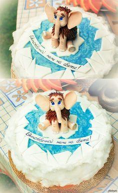 Маме на День рождения Торт собственного приготовления. Спасибо @crazykonditer за идею!)