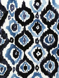 "Virginia Johnson ""Ikat"" on Stampa"