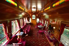 When the park first opens, go to the Main Street Station and ask for a reservation to ride in the Lily Belle train car. | 16 Awesome Hidden Gems You Must Experience At Disneyland