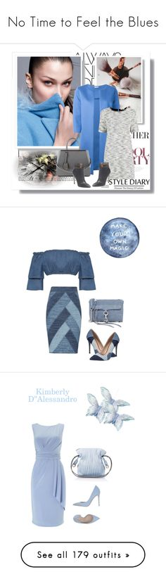 """""""No Time to Feel the Blues"""" by kimberlydalessandro ❤ liked on Polyvore featuring Nuuna, P.A.R.O.S.H., Oasis, Sergio Rossi, Fendi, BCBGMAXAZRIA, WearAll, Rebecca Minkoff, ALDO and Phase Eight"""