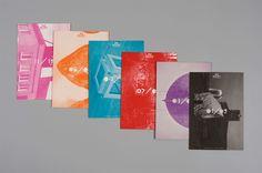 Bkc Gallery . silkscreen poster+folded leaflet