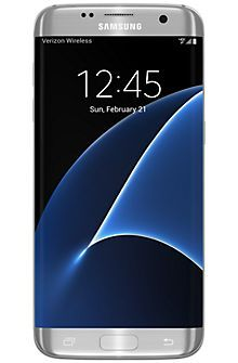 Samsung Galaxy S7 edge 32GB in Silver Titanium