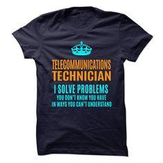 TELECOMMUNICATIONS TECHNICIAN T-Shirts, Hoodies. VIEW DETAIL ==► https://www.sunfrog.com/No-Category/TELECOMMUNICATIONS-TECHNICIAN-89993443-Guys.html?id=41382
