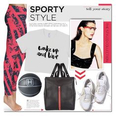 """Go Sporty!"" by mada-malureanu ❤ liked on Polyvore featuring Bela, Chanel, sporty, sportystyle and thestyledcollection"