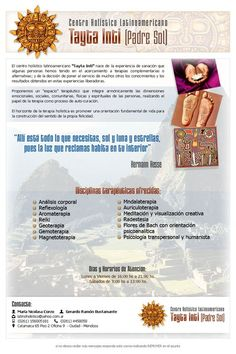 Centro Holístico Tayta Inti - Diseño de Newsletter