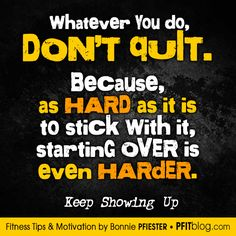 Fitness Motivation: Remember How Hard It Was To Start #fitness #motivation #fitfluential