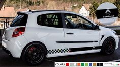 Decal sticker Stripe kit For Renault Clio IV Carbon sport 2006 - 2012 mirror RS  #Ultimateprocy1
