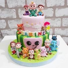 Images about #cocomeloncake on Instagram Aaliyah Birthday, 2nd Birthday Party For Girl, 1st Birthday Themes, Girl Birthday Decorations, Baby Birthday Cakes, 1st Boy Birthday, Birthday Ideas, Melon Cake, First Birthdays
