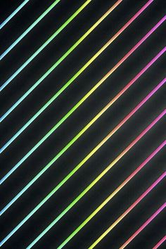 black and neon /rainbow striped wallpaper ♥♥♥
