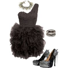 """""""spikes"""" by theshoeaffair on Polyvore"""