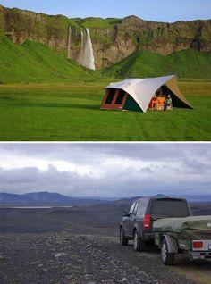 Bare camping delight