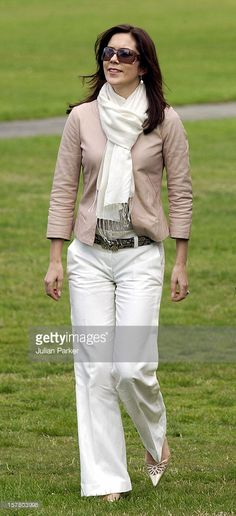 March 11, 2005---Crown Prince Frederik & Crown Princess Mary Of Denmark Visit Australia.Visit To The Port Arthur Historic Site In Tasmania.