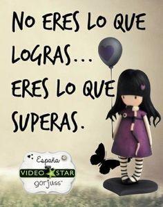 Muñeca Gorjuss The Ballon. Frases que inspiran. https://www.videostarsantandreu.com/es/137-gorjuss