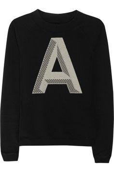 Aubin & Wills|Redferne printed cotton-terry sweatshirt|NET-A-PORTER.COM