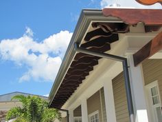 Gold Coast Downpipes and guttering Aluminium - ZC Technical Panel Systems, Wall Cladding, Gold Coast, Outdoor Decor, Copper, Wall Panelling, Brass