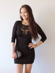 Sensible Stylista in a Deb Shops LBD