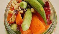 EINGELEGT - Okras und Möhren - Rezept