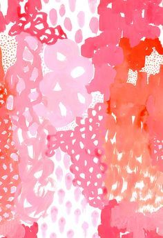 Image Result For Kate Spade Wallpaper Pink Background Wallpapers Orange Wallpaper Abstract Art Paintings