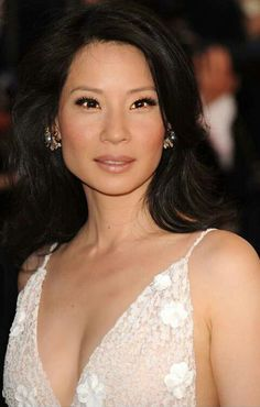 The Beautiful Lucy Liu attends The Cannes Film Festival.