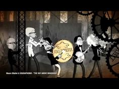 """Working Man Blues."" Music by Mauro Ottolini & Sousaphonix.  Drawings & Animation by Hermes Mangialardo."