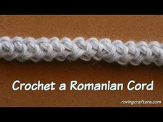 Crochet Long Tail Foundation Base Chain & Perfect Crochet I-Cord - YouTube