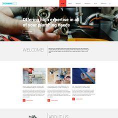 Plumbing Co WPML ready WordPress Template