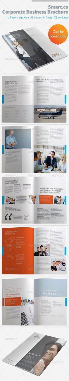 GraphicRiver - SmartCo Corporate Business Brochure