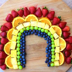 TASTE THE RAINBOW! The different colors in fruits and veggies represent different nutrients. Eat a VARIETY of fruits and veggies to obtain optimum nutrition