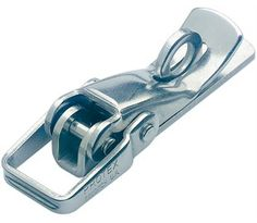 Non-Adjustable Toggle Latch Light Duty Padlockable Mild Steel Zinc Plate…