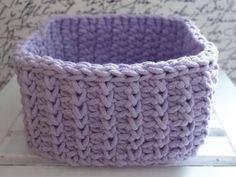 Hranatý košík NÁVOD - Veľká vlna Crochet Videos, Merino Wool Blanket, Knit Crochet, Knitting, Accessories, Gardening, Hem Pants, Tricot, Cast On Knitting