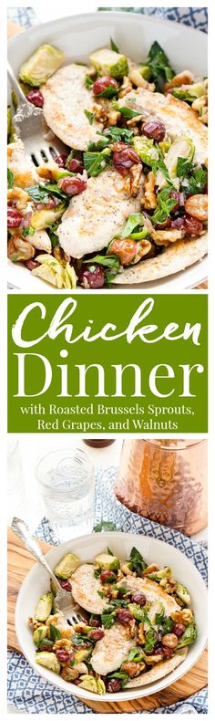 This Chicken Dinner is loaded with seasonal flavors and comes together in just…