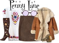 Inspired by Kate Hudson as Penny Lane in 2000's Almost Famous.