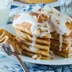 Carrot Cake Pancakes {Guest Post}