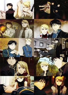 Roy Mustang & Riza Hawkeye my forever OTP