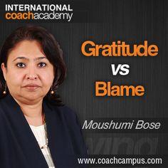 Power Tool: Gratitude Vs. Blame