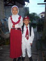 Rachma ♥ رَّحْمَ : hari pertama masuk sekolah