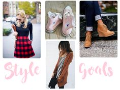 Guide to Actually Using Pinterest To Plan Your Wardrobe ---My style goals board might include things I would realistically wear or even items I own. In fact, I have recreated the striped tee and caramel cardigan look before....