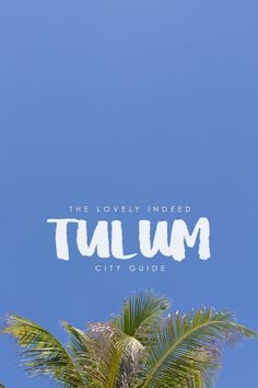 Awesome Tulum Guide (car + bike rentals, where to buy groceries, sandals, etc.)
