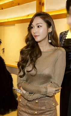 Jessica Jung at BALMAIN Event in Korea.