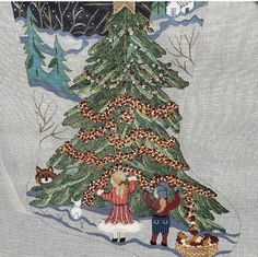 Christmas Trees, Needlepoint, Stitches, Elephant, Xmas Trees, Stitching, Stitch, Elephants, Needlework