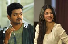 Will Shruti Hassan be joining Vijay's Kaththi?