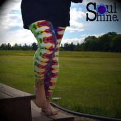 LEGGING Yoga Pant Psychedelic Leggings Hippie by SoulShineMaine #soulshinemaine #tiedye #gratefuldead #rainbowwarriorprincess #hippiechic